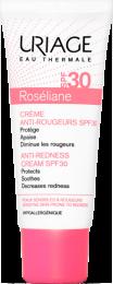 Zaštitna krema SPF30 za osjetljivu kožu sklonu crvenilu Uriage Roseliane