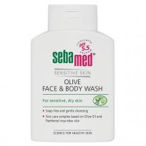 SEBAMED Gel za pranje lica i tijela s maslinovim uljem za osjetljivu i suhu kožu
