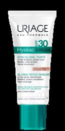 Uriage Hyseac 3 REGULAR SPF30 u boji za masnu kožu univerzalna nijansa