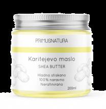 Primus Natura - Karitejevo SHEA maslo, 200ml