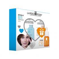 La Roche-Posay HYALU B5 Serum 30 ml + Vitamin C 10 Serum 10 ml