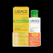 Uriage Bariesun matirajući fluid 50 ml + gratis Micelarna voda 100 ml